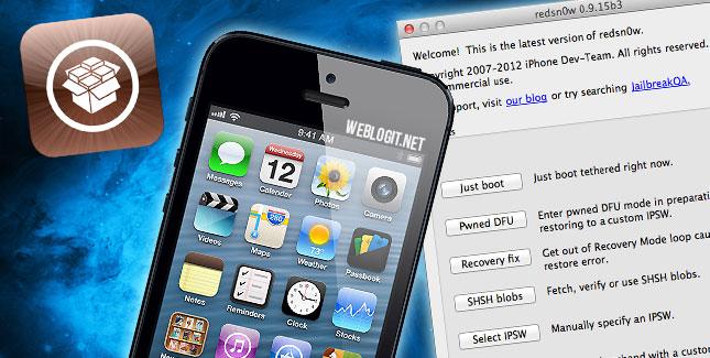 Anleitung für iOS 6.1.3 Tethered Jailbreak mit iPhone & iPod