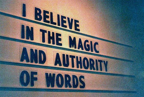Magic of words
