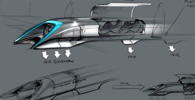 Der Hyperloop: Mit bis zu 1200 km/h durch den Tunnel