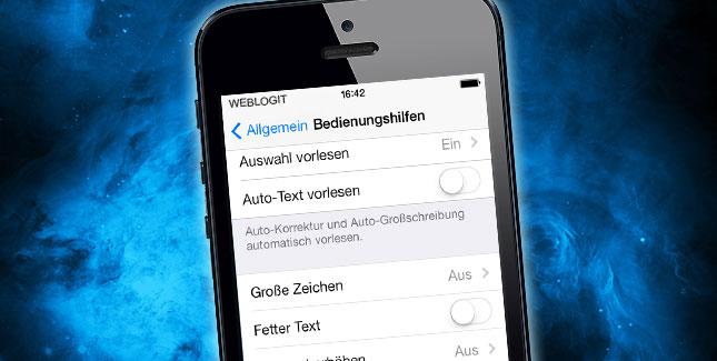 3D Parallax Effekt in iOS 7 deaktivieren: So geht's