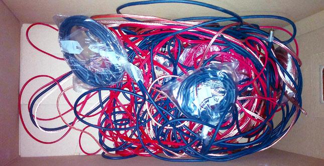 Kabel richtig rollen und ordentlich verstauen: Trick 17