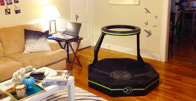 Virtuix Omni jetzt vorbestellbar, 360-Grad Steuerung