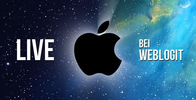 Apple Event: iPhone 5S Vorstellung jetzt LIVE verfolgen!