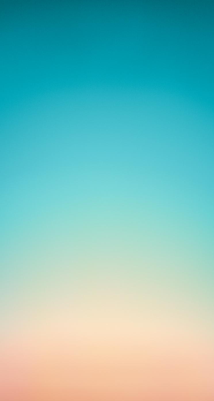 gradient1 iOS 7 Wallpaper heute schon nutzen: Download