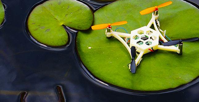 Hex Airbots: günstige Flug-Drohnen mit anpassbarem 3D-Druck-Chassis