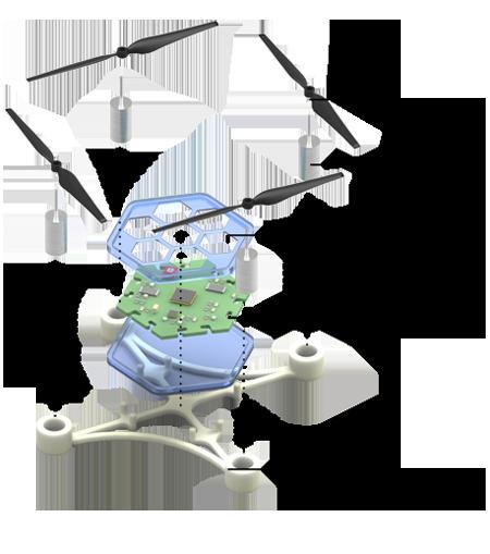hexairbot-struktur