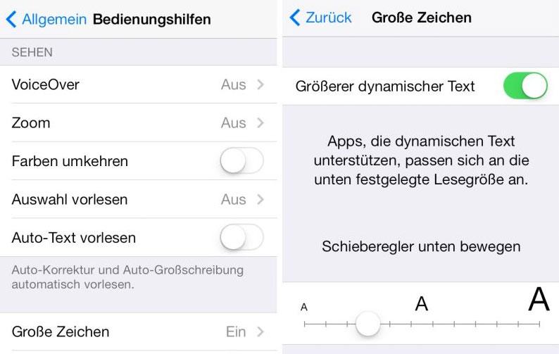 iOS-7-dynamischer-Text