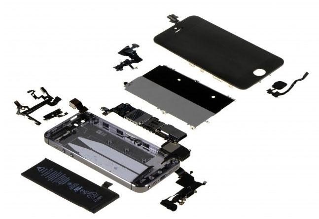 iPhone-5s-Bauteile