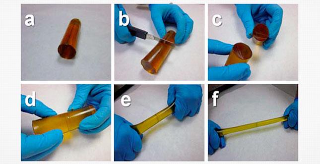Terminator-Polymer regeneriert sich selbst