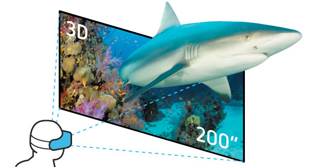 vrAse: Smartphone als gigantischen 3D-Bildschirm nutzen?