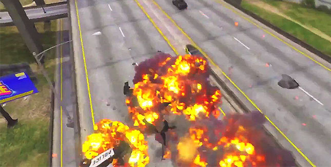 So sterbt ihr möglichst stilvoll in GTA 5 (Parodie)