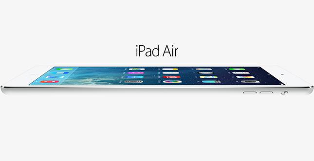 iPad Air: Apple stellt extrem dünnes und leichtes Tablet vor