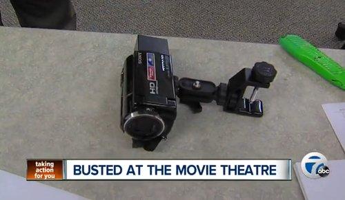 Die beschlagnahmte Kamera (ABC News)