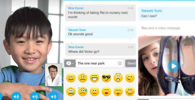 Skype kriegt iOS 7 Designupdate