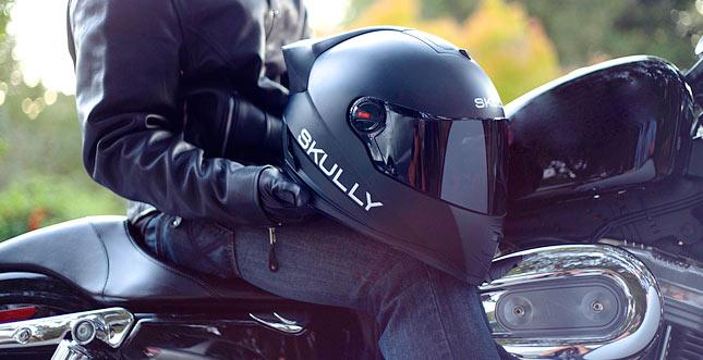 Android-Motorradhelm Skully P1 ist ein High-Tech-Traum
