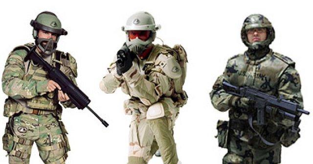 Konzepte für SOCOM-Uniformen der Zukunft