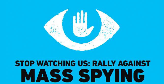 Stop Watching Us: Protestaufruf & Video