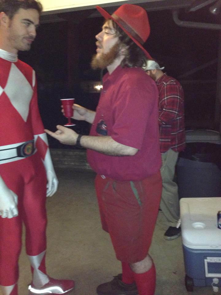 Zwei Red Ranger