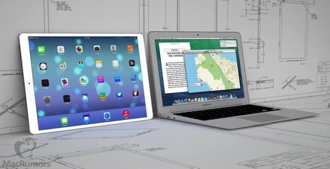 Gerücht: iPad mit 12,9 Zoll Display?