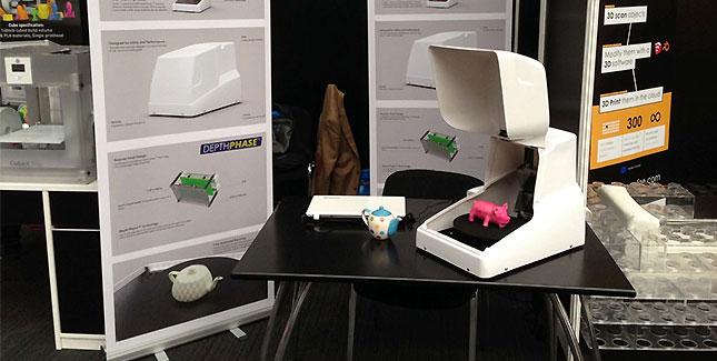 Cubik 3D-Farb-Scanner von CADScan für 837 Euro