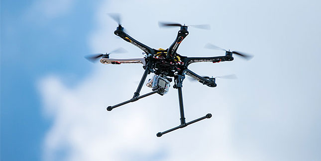 Erwischt: Tabak mit einer Drohne ins Gefängnis schmuggeln