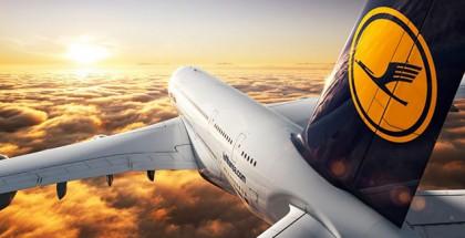 Lufthansa-Flugzeug-Wallpaper