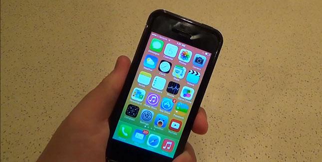 iPhone 5s iOS 7.0.3 erneut mit schwerwiegendem Lockscreen-Bug