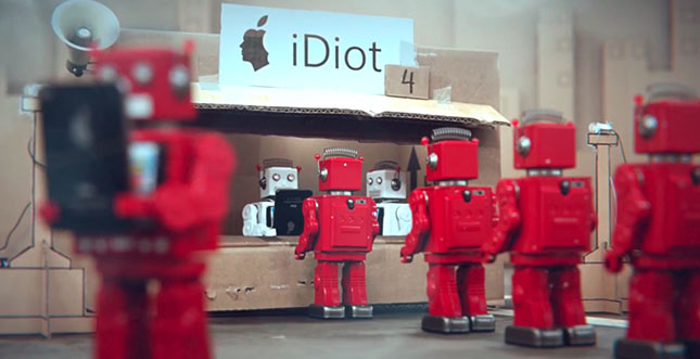 iDiots: Kurzfilm zum modernen Konsumverhalten