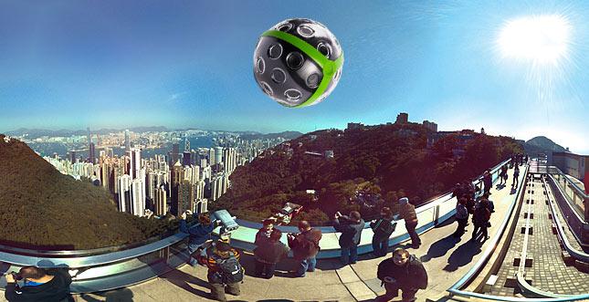Panono: Die Foto-Sphere zum Werfen mit 72 Megapixel-Bildern