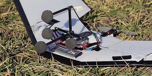Micro Air: Drohne ortet Personen in Not via Schallwellen