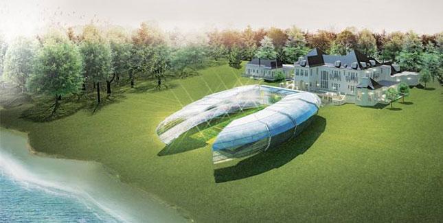 Das ultimative Weihnachtsgeschenk: Ein eigenes Stadion im Garten
