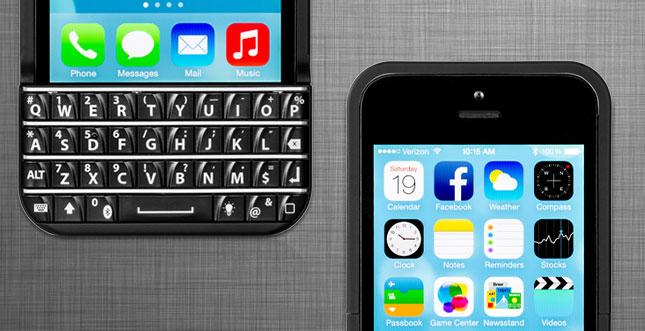 Typo Tastatur Hülle für das iPhone 5s & 5 erfolgreich finanziert