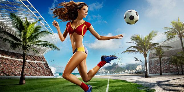 WM 2014 Kalender mit brasilianischen Schönheiten