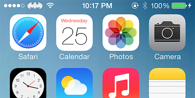 Zeppelin 2.0 Tweak für iOS 7: Provider-Logo ändern
