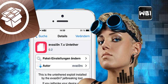 iOS 7 Jailbreak: Mit evasi0n 7.x Untether 0.2 auf Updates vorbereiten