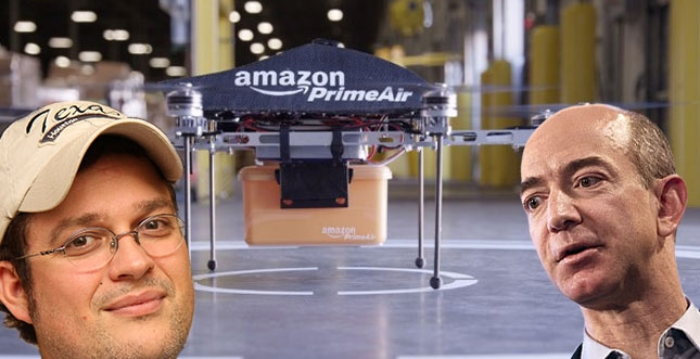 Amazon Prime Air: Sascha Pallenberg und die Marketing-Blase