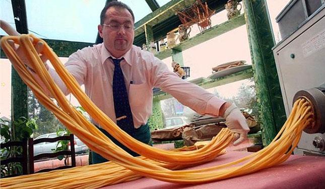 Die gedruckte Pasta aus dem 3D-Drucker wird Wirklichkeit