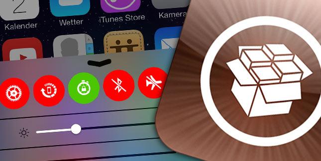 CCControls Cydia Tweak für das iOS 7 Control Center