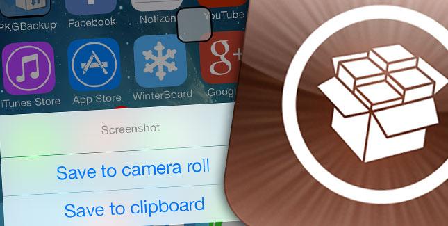 ClipShot für iOS 7: Zusatzfunktionen für Bildschirm-Screenshots