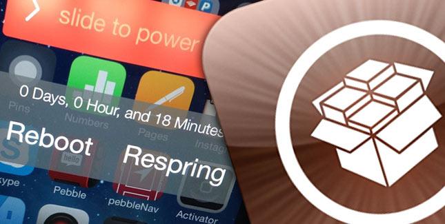 RePower für iOS 7: Respring & Reboot Erweiterung