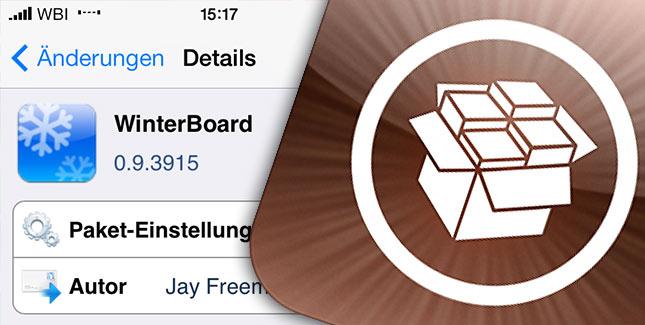 Statusbar Probleme: Winterboard Update sorgt für Abhilfe