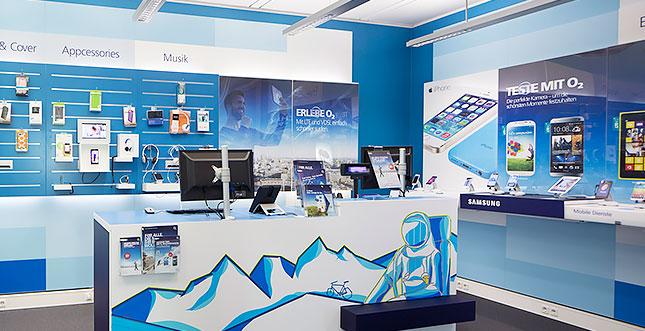 Der O2 Facebook Pop Up Store in München
