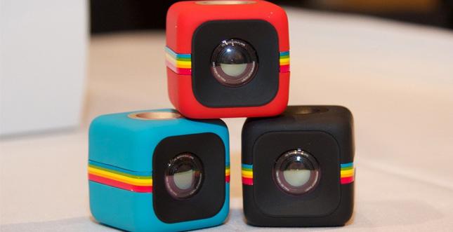 Dieser winzige HD-Kamerawürfel nennt sich Polaroid C3