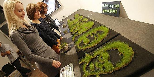 Studenten drucken Gras im 3D Drucker