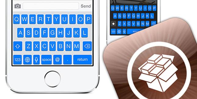 Blueboard: Systemweit blaue Tastatur für iOS 7