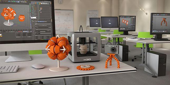 M3D: Diesen kleinen 3D Drucker kann sich jeder leisten