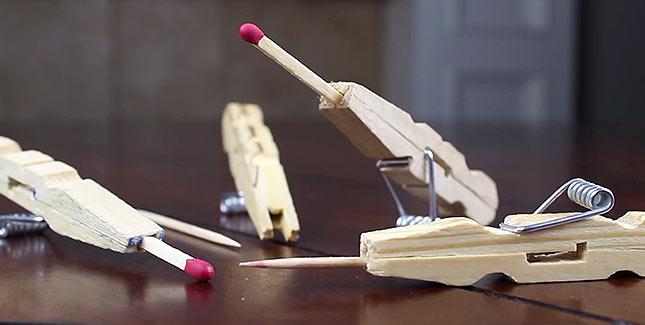Mini-Streichholz-Kanone im Eigenbau: Genial!