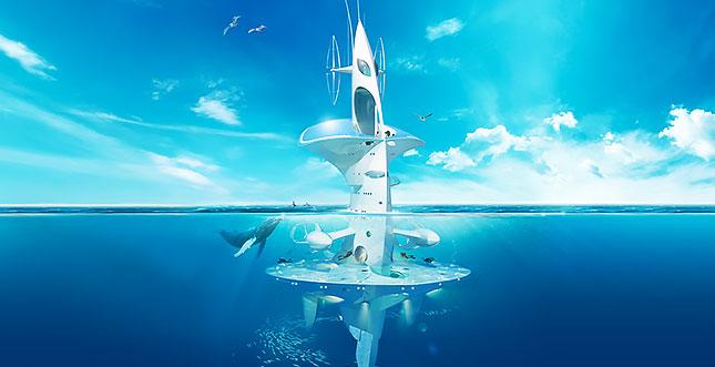 SeaOrbiter: Futuristisches Wissenschafts-Schiff