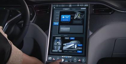 Tesla-Innenraum