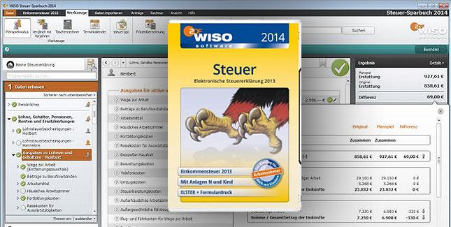 WISO Steuer 2014 aktuell zum Kampfpreis erhältlich